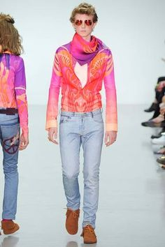 Katie Eary Spring 2015 Menswear Collection Slideshow on Style.com