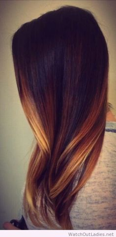 Ombre Hair Color on Pinterest