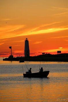 Salmon Fishing in Frankfort | Flickr - Photo Sharing!