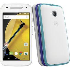 (Americanas.com) Smartphone Motorola Moto E ( 2ª Geração ) Colors Dual Chip Desbloqueado Android Lollipop 5.0 Tela 4.5 ´ 16GB Wi - Fi…
