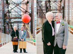 Casal comemora 61 anos de casamento com ensaio inspirado no filme 'Up – Altas Aventuras' | Dias de Noiva - Yahoo Mulher