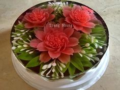 Cupcakes, Cupcake Cakes, Puding Art, 3d Jelly Cake, Jelly Flower, Mousse, Jello Cake, Cake Art, Art Cakes