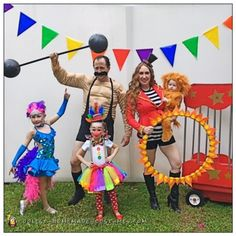 Disfraz Familia Circo
