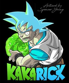 Rick and Morty x DBZ