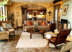 Mexican/southwest decor | ... With Lively Mexican Style Decor | Home Design and Decorating Ideas