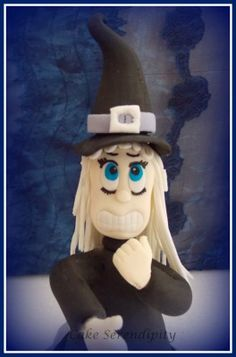 Good Witch - Fondant Topper