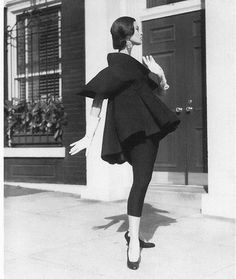 1950's Glamour. Wonder if this was a maternity coat. If so, it's the coolest ever. Pink Christmas, Luxury Fashion, Exploring, Ballet Skirt, Explore, Research, Study, Ballet Tutu