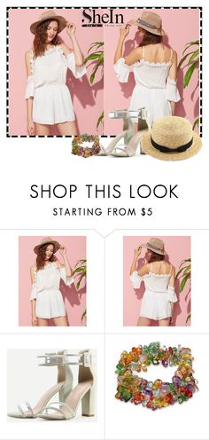 """""""Sheinside XXV/4"""" by minka-989 ❤ liked on Polyvore featuring WithChic and Sheinside"""