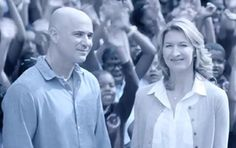 "Longines TV ad ""Sharing Success"" - Legends of Tennis Stefanie Graf and Andre Agassi"