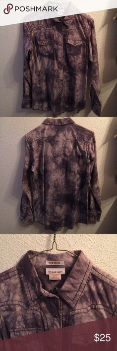 Western Shirt Brand new Ariat western shirt.   It's very fitted it says it's a medium but I think it's a small.  Very cute on and it's never been worn. Tops Blouses