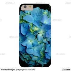 Blue Hydrangea Barely There iPhone 6 Plus Case http://www.zazzle.com/hydrangeas*