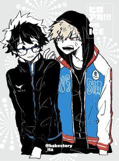 My Hero Academia - Midoriya & Bakugou