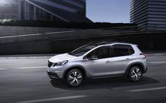 Scarica sfondi Peugeot 2008, 4k, 2018 automobili, nuovo 2008, crossover, le auto francesi, Peugeot