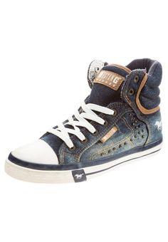 Mustang Sneaker high jeansblau für Damen -