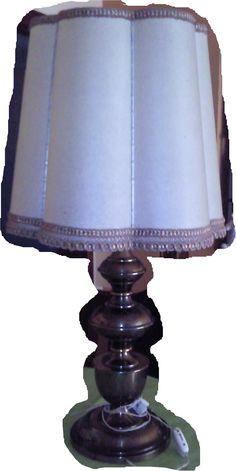 Bartollinna viaja en vespa. Bricolaje, lamp, lampara, before after, antes despues