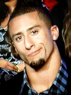 Colin Kaepernick- not impressed with haters;)