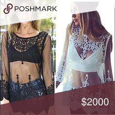 💥Coming Soon💥The Grenadine lace top This gorgeous top will be here soon in white and black. If you'd like to be notified when it arrives just tag yourself in the comments section. Tops