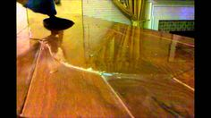 How to - Epoxy resin bar top crystal clear glaze coat