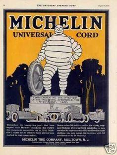 Michelin Tire Color (1920)
