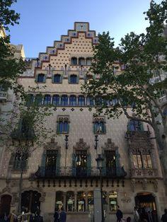 Casa Amatller in Barcelona, Cataluña