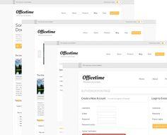 OfficeTime - Free Multi Purpose PSD Website Template
