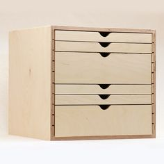 Drawer Cabinet - Stamp-n-Storage Craft Room Storage, Paper Storage, Craft Organization, Storage Ideas, Craft Rooms, Sheet Storage, Stamp Storage, Ikea Storage, Cube Storage