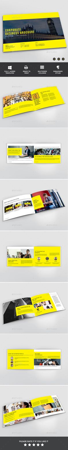Brochure - Informational Brochures Easy to add more pages Easy to Customize Stylish Layout Paragraph Styles Character Styles Print-ready with bleed Auto page number Free fonts link Included PDF Preview File Included 16 Pages Professional fully Editable InDesign File (.indd + .IDML )