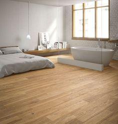 difícil distinguir a simple vista si un suelo es realmente en madera o si por el contrario, es un suelo porcelánico imitación madera (parquet, laminado,...)