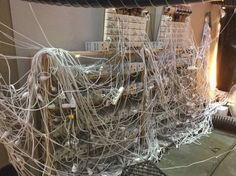 Police Discover Worst Cable Management Situation Ever Following Sydney Marijuana Bust | Gizmodo Australia