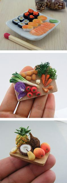 Miniature Meals by Shay Aaron | Inspiration Grid | Design Inspiration