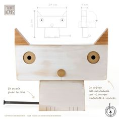 "GATA ""LUCI"" BLANCA [GRANDE] - Comprar en ANIMADEROS Woodworking For Kids, Woodworking Toys, Woodworking Projects, Wooden Crafts, Diy And Crafts, Diy Gifts To Sell, Animal Cutouts, Wood Animal, Small Wood Projects"