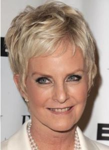 Youthful And Stylish Short Haircuts For Women Over 50 6
