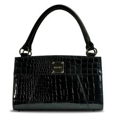 "This is ""Ella (Black)"" Classic Shell the twin sister to ""Ella (Red)""  karen.miche.com"