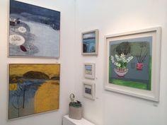 Affordable Art Fair, Mixed Media, Gallery Wall, Paintings, Contemporary, Frame, Artwork, Ideas, Art Work