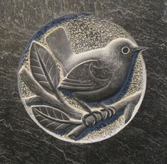 Bird Bas-Relief Sculpture, slate not soapstone Stone Sculpture, Sculpture Art, Dremel Carving, Soapstone Carving, Crystal Garden, Clay Tiles, Wood Stone, Relief, Tile Art