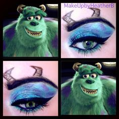 Monsters Inc Makeup