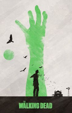 The Walking Dead Poster - Colin Morella