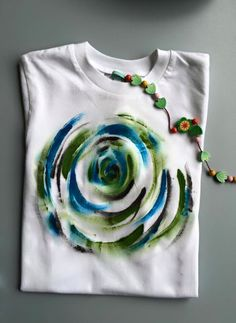 Hand painted T-shirt by Licious Colours The Creator, Tie Dye, Designers, Hand Painted, Colours, Unique, Shirt, Handmade, Women