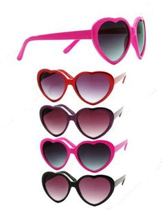 0d2b64a6ed Heart Shape Sunglasses Mix Colors 12 PACK 1010