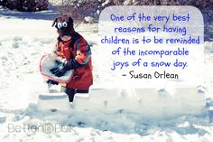 How do you feel back having a weekend and snow day?I just love the extra days of sleeping in! Come link up your photo posts! Snow Quotes, Toddler Crafts, Parenting Advice, Just Love, Winter Wonderland, Children, Kids, Give It To Me, Feelings