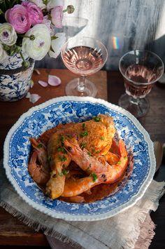 Chicken in shrimp bisque | Gourmantine