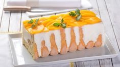 Smotanová torta trochu inak: Fantastický broskyňový dezert