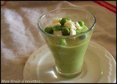 Mon tiroir à recettes - Blog de cuisine: Soupe de cosses de petits pois