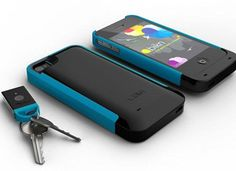 Your phone finds your lost keys and your keys find your lost phone. - I totally need this... But is there something you can physically nail down that can find both?