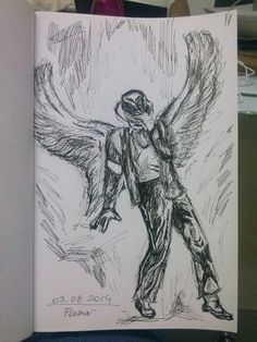 Michael jackson art billie jean