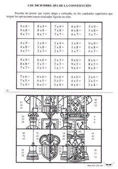 Escudo multiplicar Math 4 Kids, 3rd Grade Math Worksheets, Math Sheets, School Frame, Math Problem Solving, Math School, Math Multiplication, Math Test, Primary Maths