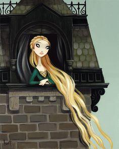 Krista Huot, Rapunzel