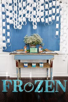 Disney's #FROZEN Party Ideas