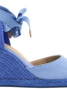 CASTAÑER   Castañer Castañer Carina Wedge #Shoes #High-heeled shoes #CASTAÑER
