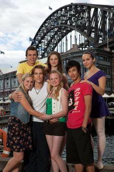 Xenia Goodwin, Alicia Banit, Dena Kaplan, Maria-Victoria Dragus, Tom Green, Jordan Rodrigues and Tim Pocock for Dance Academy